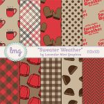 """""""Sweater Weather"""" Paper Pack"""