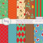 Merry Christmas Paper Pack
